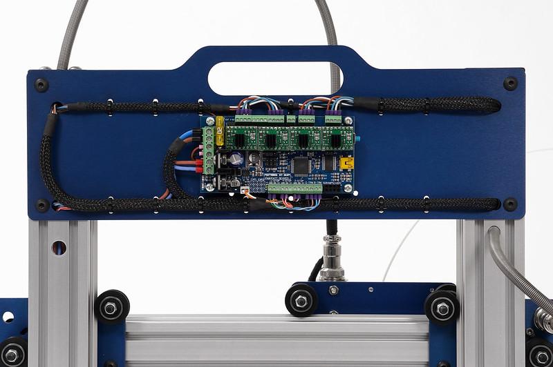 Azteeg X1 on Hadron ORD 3D Printer