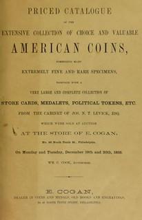 Cogan Levick sale catalog