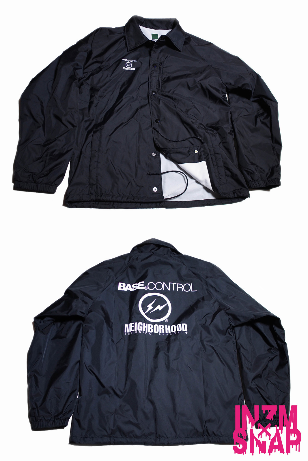 BASE CONTROL × fragment design × NEIGHBORHOOD