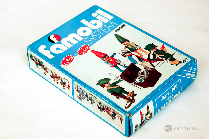 Famobil - cortesanos medievales en caja