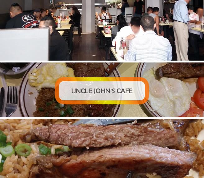食記,洛城,牛排,西餐,Uncle John's, cafe