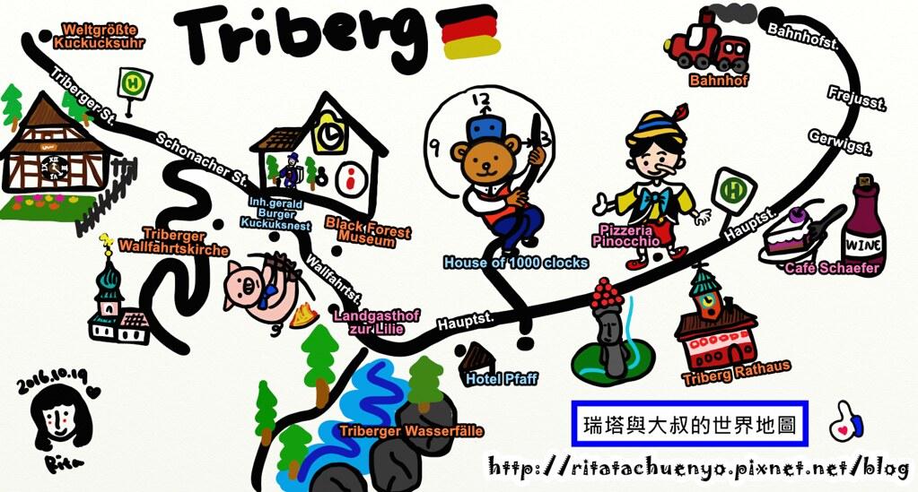 Triberg地圖-2