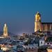 Girona skyline by jepiswell