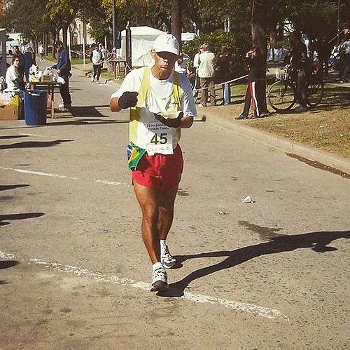 Venado Tuerto, Argentina, april 2007. In this day, I ran 141.600 meters. General clasification: 10.
