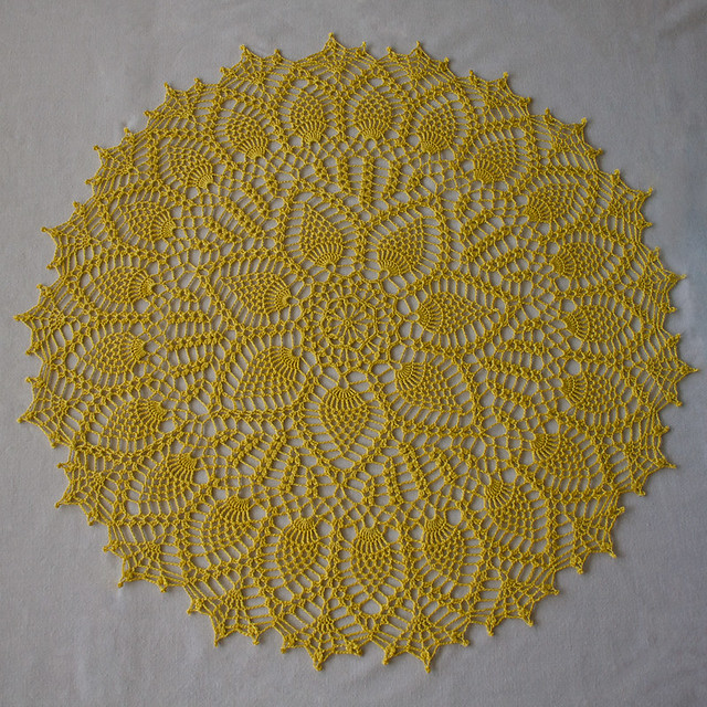 Lemondrop Doily