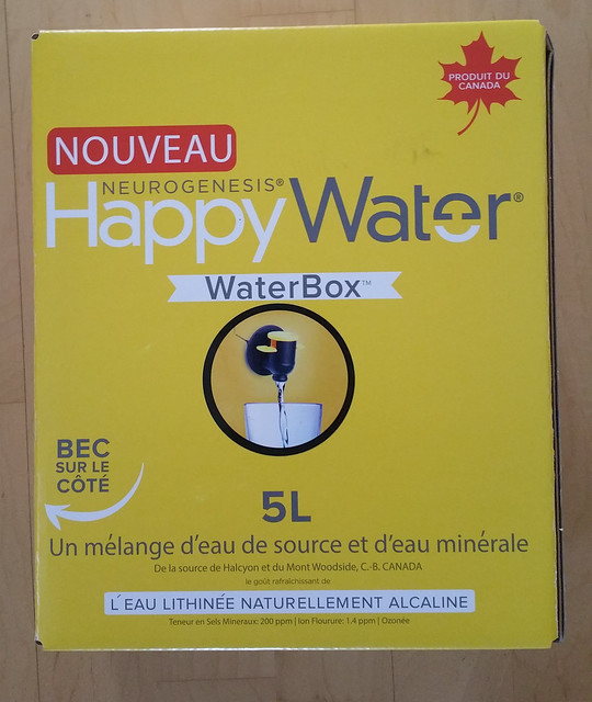 Happy Water 5L front