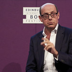 Nick Robinson | The BBC's Political Editor Nick Robinson speaks about the recent General Election campaign at the Book Festival © Helen Jones