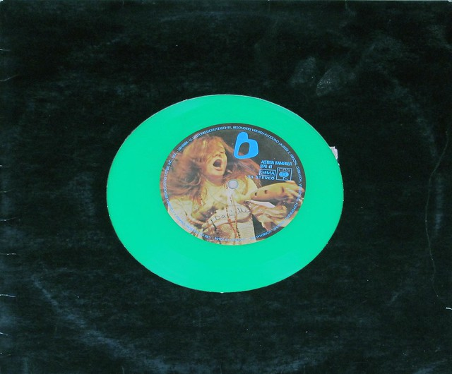 "ACTION SAMPLER JANIS JOPLIN CBS Green Vinyl 12"" LP VINYL"