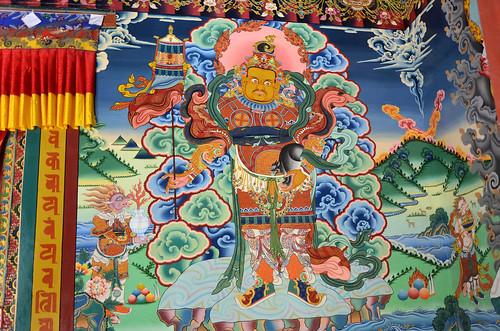 buddhism hemismonastery muralpaintings tibetanbuddhism indiantourism tourismofindia imagesofladakh tantrikbuddhism