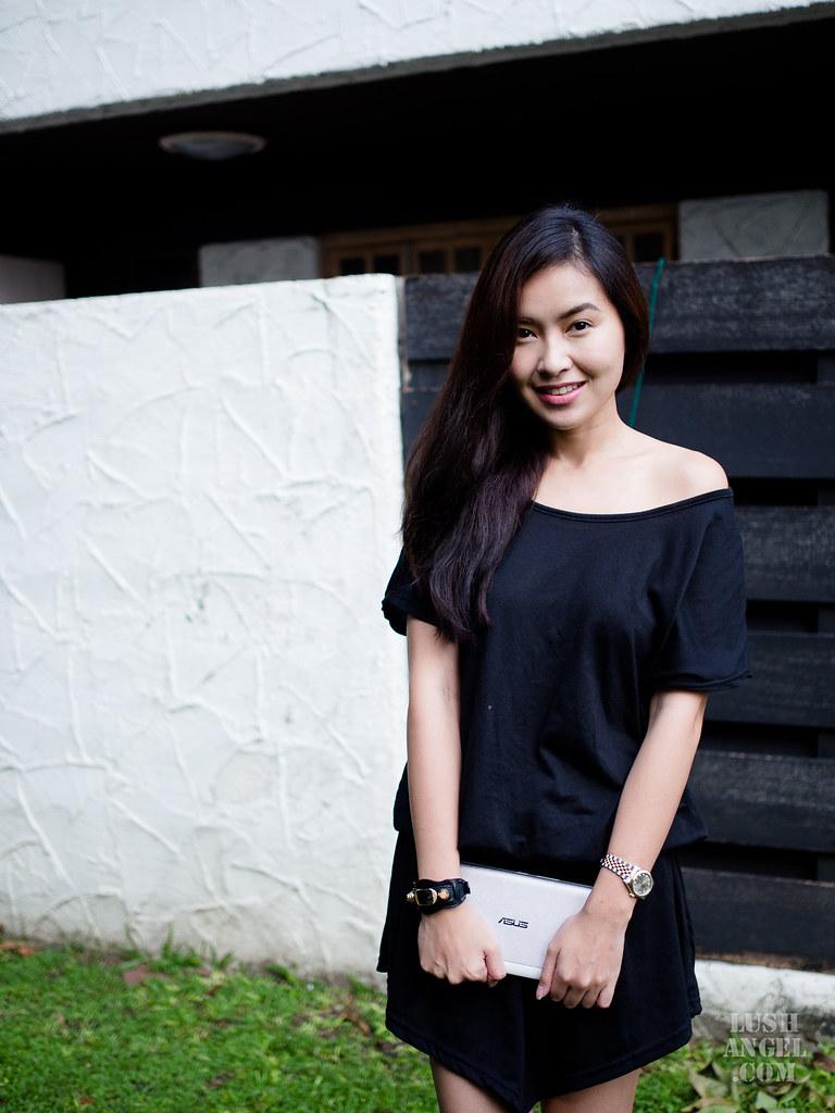black-casual-dress
