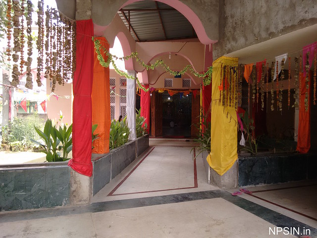 Two corridor for two different Bhawan