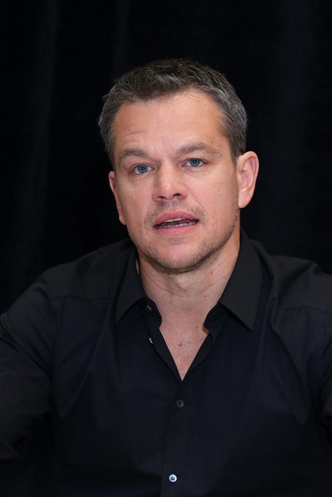 Мэтт Деймон — Пресс-конференция «Марсианин» на «TIFF» 2015 – 26