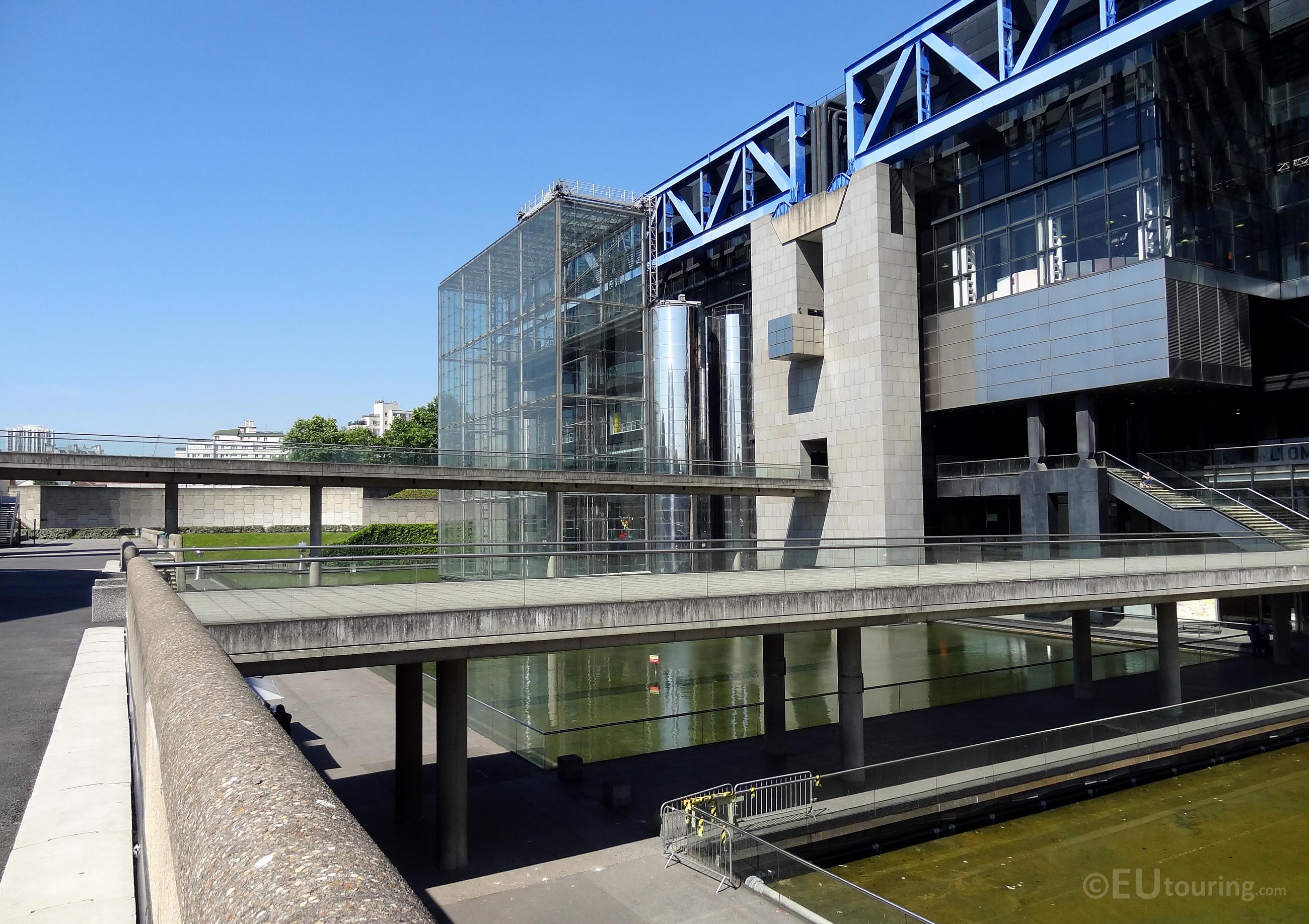 Design of Cite des Sciences
