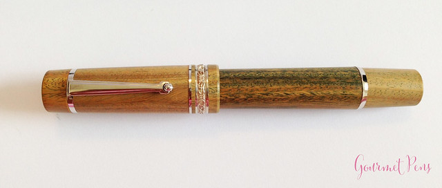 Review Delta Vespucci Encore Argento Wood LE Fountain Pen @ChatterleyLux (1)