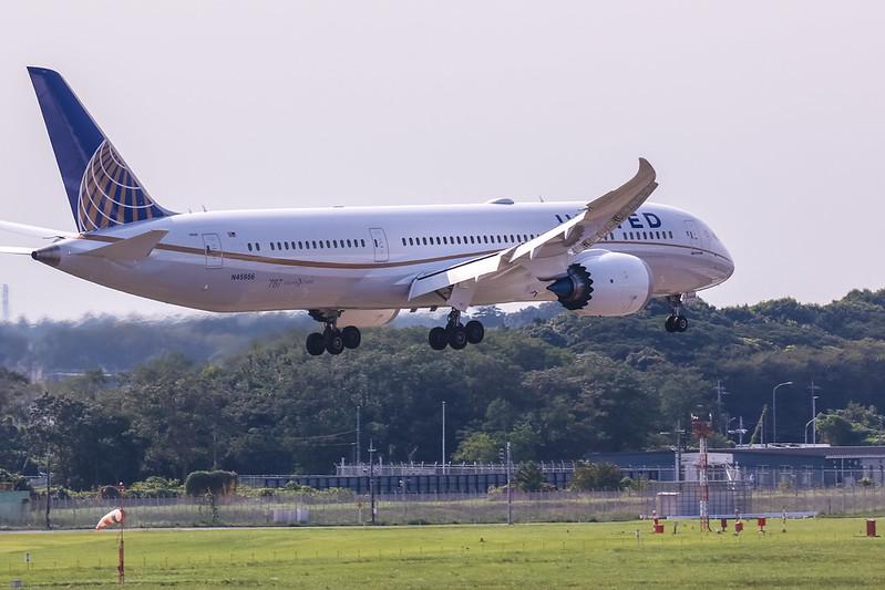 N45956 Boeing 787-9 Dreamliner United Airlines
