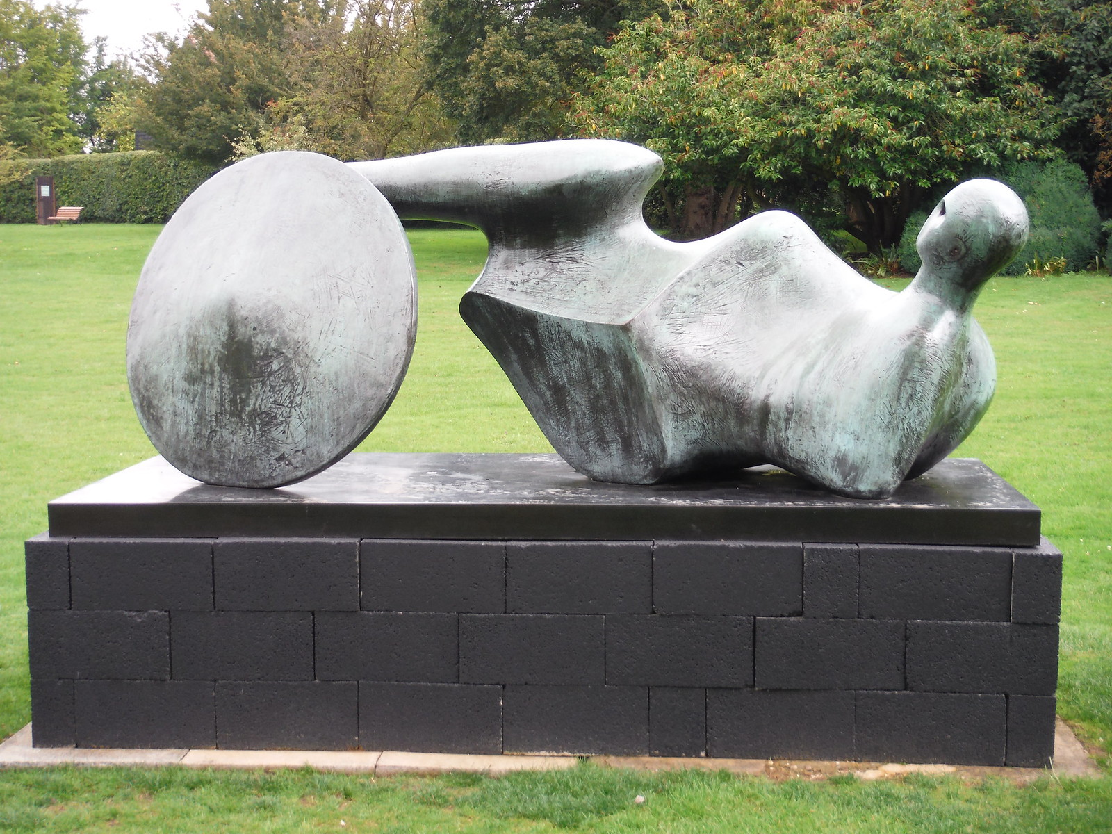 Goslar Warrior (1973-74) SWC Walk 164 Roydon to Sawbridgeworth via Henry Moore Foundation