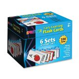 Carson Dellosa Early Learning Flash Cards: 6 Sets of  54 Flash Card (744085)