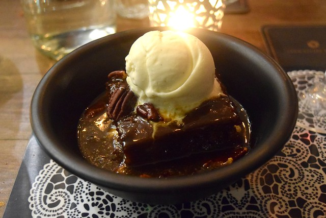 Sticky Toffee Pudding at The Scran and Scallie, Edinburgh | www.rachelphipps.com @rachelphipps