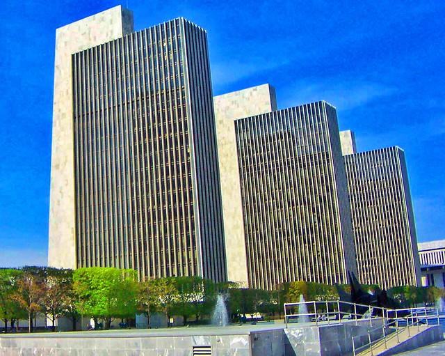 Albany New York ~ Legislative Building ~ Empire State Plaza ~ Landmark
