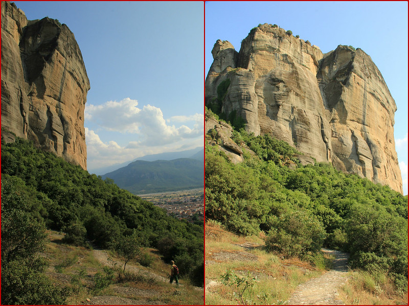 The route back down, Meteora
