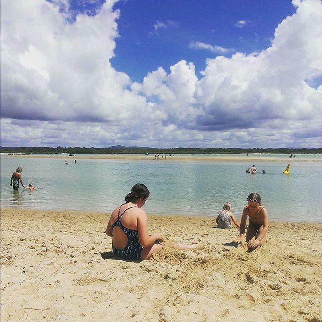 At the doggy beach