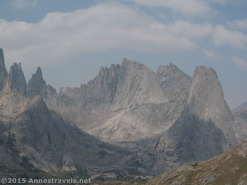 Another close up of the Cirque of Towers, Wind River Range, Wyoming