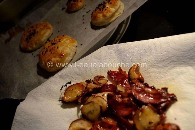 Oeufs Brouillés aux Cèpes & Magret de Canard Fumé © Ana Luthi Tous droits réservés 15