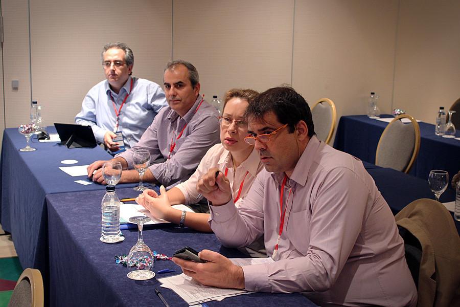Члены греческой делегации