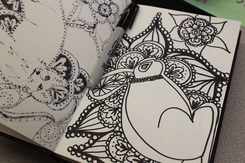 My No-Carve Doodle Pumpkin | DIY Del Ray