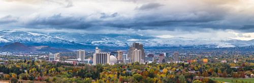 Reno's first snowfall of 2015. | by Trevor Bexon