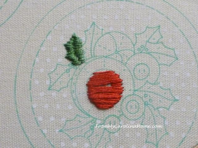 Slow Stitching week 6 - 4
