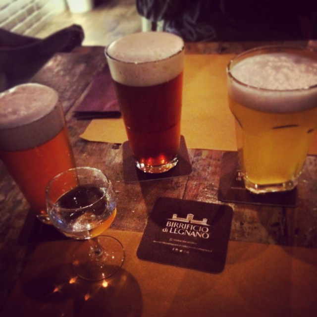 Straight to the Birrificio of Legnano do taste their new beers