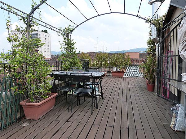 terrasse sur les toits de Turin