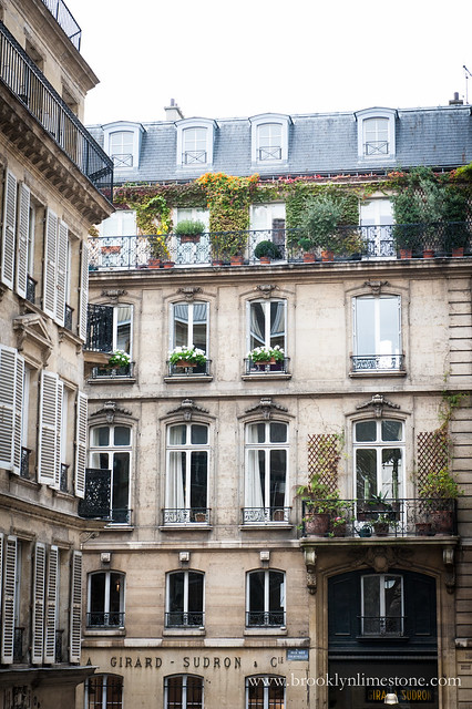 A beautiful building in Paris