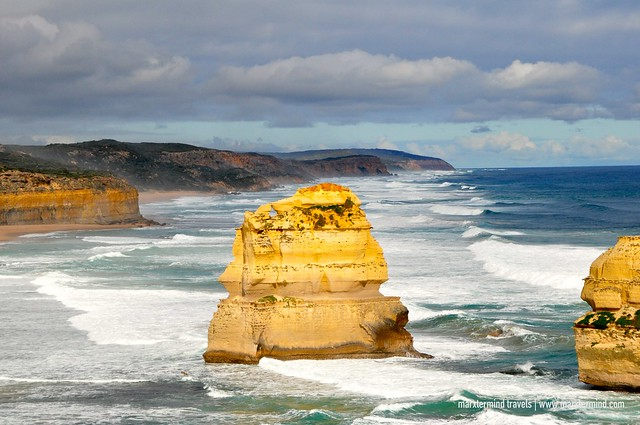 Rock Formations and Cliff Bass Strait