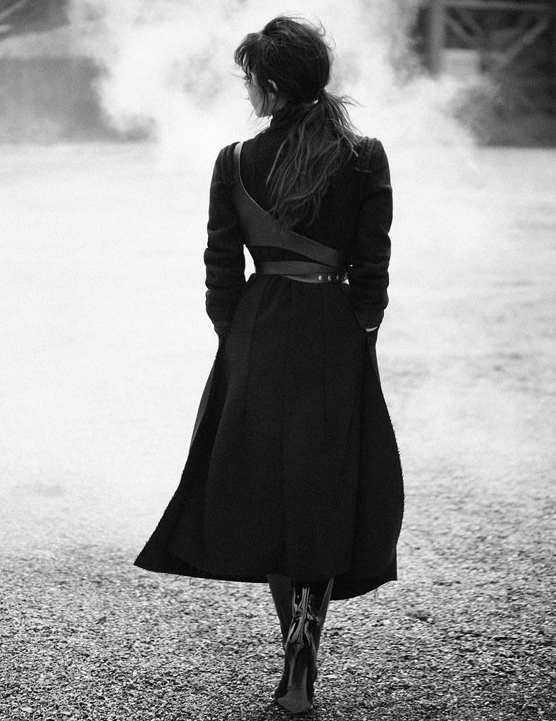 Виктория Бекхэм — Фотосессия для «Vogue» DE 2015 – 5