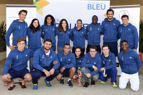 Rassemblement bleu - En route pour Rio