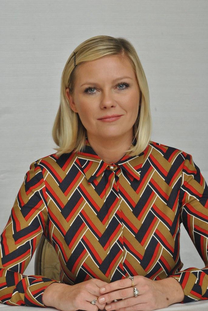 Кирстен Данст — Пресс-конференция «Фарго» 2015 – 11