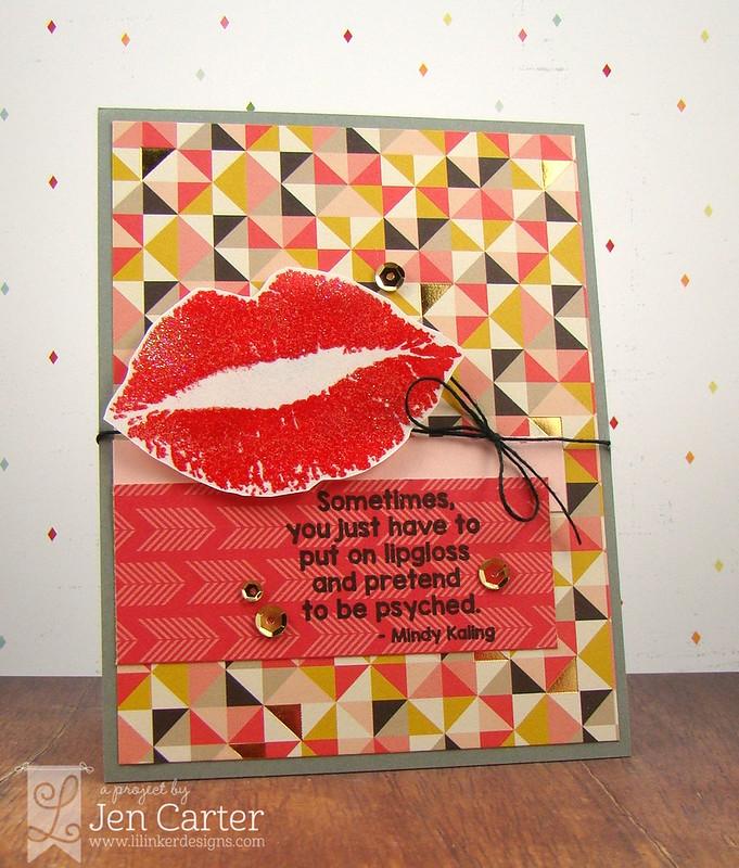 Jen Carter Lips Psyched wm