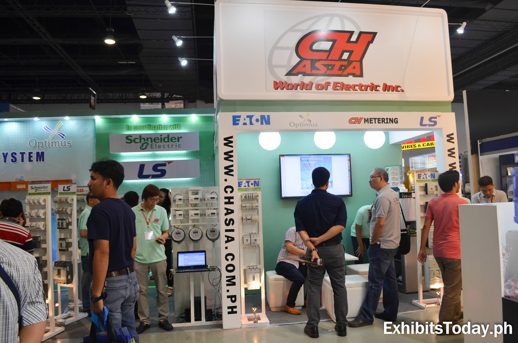 CH Asia Exhibit Booth (front)