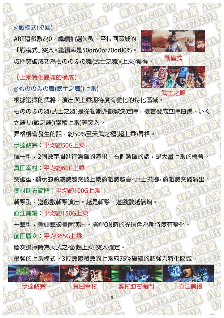 S0300花之慶次 戰極傾奇者之宴 中文版攻略_Page_09