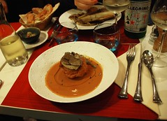The French food cooked by a Japanese Chef...