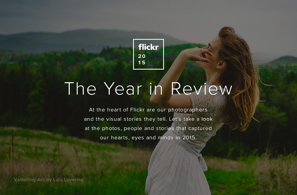 Flickr Year in Review 2015