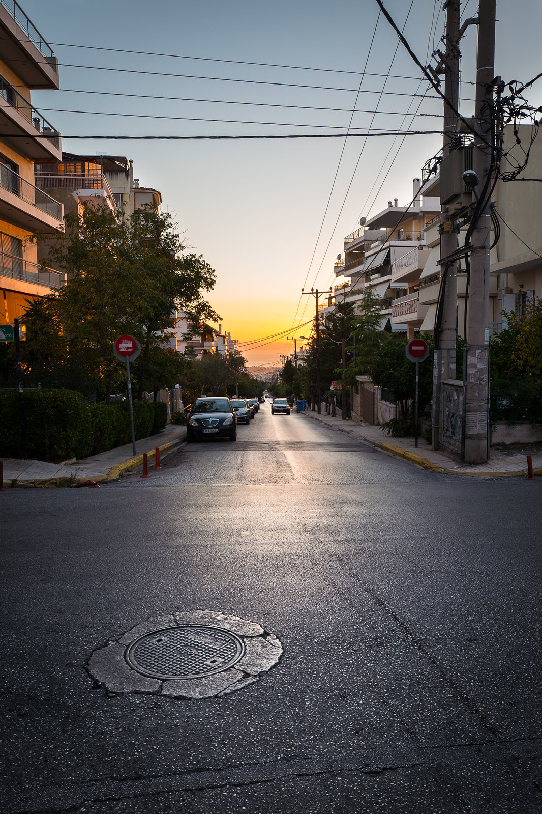 Glyfada sunset