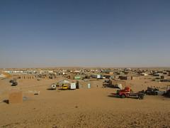 campement de réfugiés de Boujdour