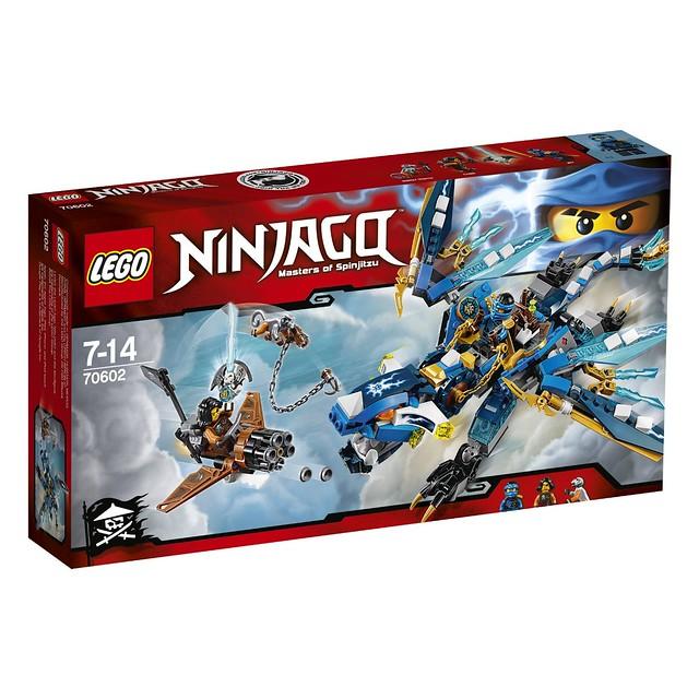 LEGO Ninjago 70602 - Jay's Elemental Dragon