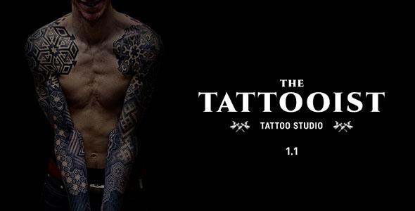 Themeforest The Tattooist v1.1 – Tattoo & Body Art Studio Template