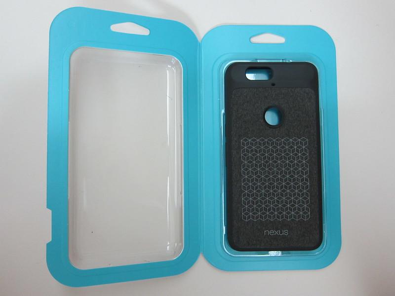 Nexus 6P Official Case - Packaging Open