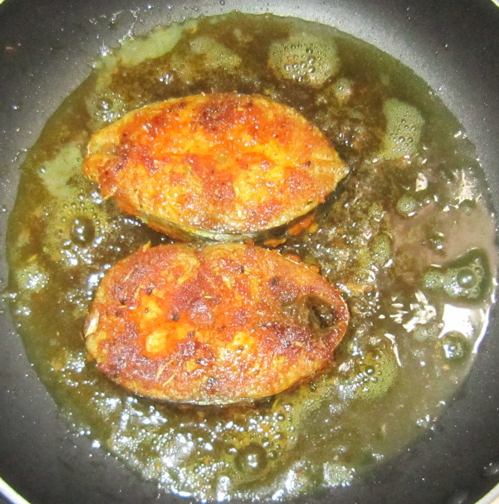 Oishi recipes seer fish neymeen vanjaram surmai fish fry for Sides to bring to a fish fry