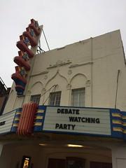 Texas Theater Debate Watching
